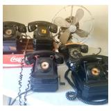 Antique crank phones