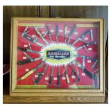 "INCREDIBLE ""One of a kind"" CAMILLUS General store salesman sample KNIFE DISPLAY BOX !!!!"