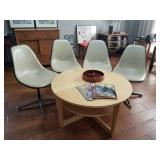 Herman Miller Bucket chairs (set of 4)