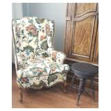 Beautiful Custom wing back chair