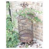 Vintage iron birdcages