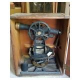Antique surveyors Transit and Tripod (Homeowner dates it to 1904