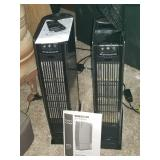 Oreck Air purifiers with remotes