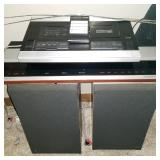 Vintage Bang & Olufsen of Denmark stereo system with remote -Beomaster 2400, Beocord 1600, Beovex S4