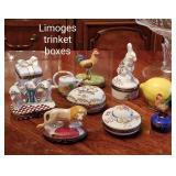 Limoges trinket boxes