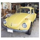 1972 Volkswagon Beetle