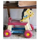 Vintage Fisher Price Hobby Horse