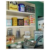 Vintage Canisters and Kitchen Gadgets