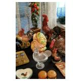PACKED with Rooster & hicken decor