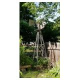 Vintage outdoor windmill