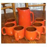 Frankoma pottery set