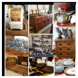 *50% OFF SATURDAY! Great Richardson estate is FULL of fun/beautiful treasures from around the world!