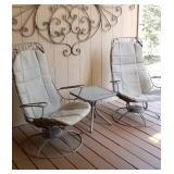 MCM Homecrest outdoor chairs