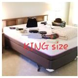 SUPER CLEAN King size bed
