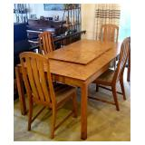 Bassett dining room table