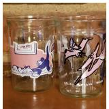 Vintage Jelly Jar Glasses