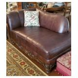 Beautiful leather settee