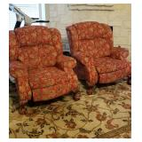 Matching custom armchairs/recliners