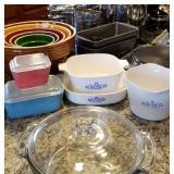Pyrex, Corningware, etc...