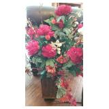 Many Custom Floral Arrangements throughout the house