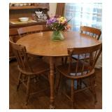 Maple dining room table