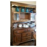 Heywood Wakefield china/display hutch
