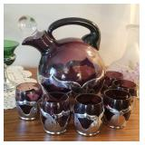 Cambridge/Farber Bros amythist tea set