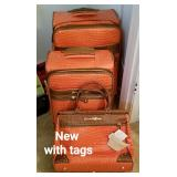Several luggage sets- some NEW WITH TAGS