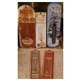Vintage Advertising Thermometers