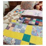 Many Vintage Quilts