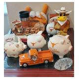 Lots of UT Longhorn Collectibles