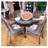 There are SEVERAL Patio Table & Chairs sets