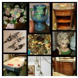 50%+ OFF SATURDAY!!!  Estate is full of lovely, fun, & unique furniture & collectible TREASURES !