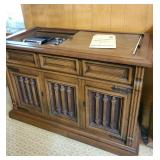 Vintage Magnavox stereo console