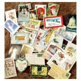 Great vintage cards and ephemera