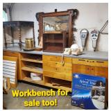 Workbench is for sale too