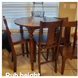 Pub Height Kitchen Table & Chairs