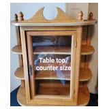 Table Top/Counter size Display Cabinets