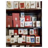 Birds, Seashells, and Christmas Windows Hallmark Ornaments
