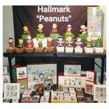 Huge  collection of Hallmark Peanuts Ornaments