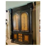 Stunning HUGE entertainment armoire.  *Client requests you have professional movers move this piece.