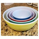 Vintage Pyre mixing bowl set