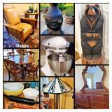 50% OFF SUNDAY!!!  Designer furniture, tools, outdoor decor, +++