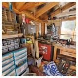 Full woodworking shop full of tools !