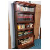 2 nice mahogany lawyers barrister bookcases