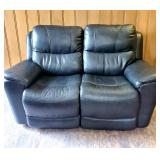 Slate color ELECTRIC reclining love seat with USB ports - VERY NICE !!!!