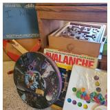 Vintage games, toys & puzzles