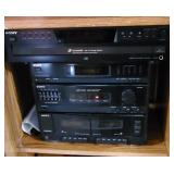 Sony stereo equipment