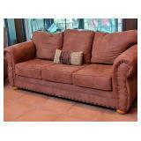 Nice suede sofa