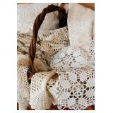 handmade lace doilies